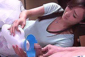 青山はな 義父のメス犬と化したドM妻!尿瓶でおしっこのお手伝いしたら首輪をつけられ浮気キス