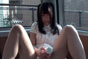 星乃ほのか パイパン美少女が妹ごっこで一人遊びのピンクローターオナニーでじんわりパンティ濡らしちゃう