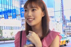【ナンパTV】スベスベ美尻の癒し系スレンダー美少女の笑顔が歪む快楽SEX!