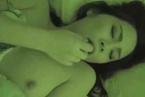 花咲いあん 寝ている美人な人妻がイタズラ!おっぱい乳首やおマンコを弄られて感じてしまう