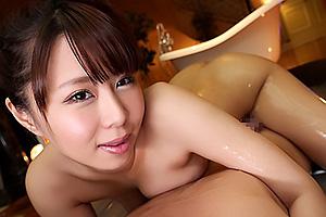 枢木みかん スタイル抜群の美巨乳泡嬢がアナル舐めまでしちゃう丁寧なサービス超高級中出し専門ソープ
