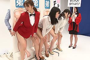 倖田李梨 司会者のお姉さんまでもエッチなゲームに参加!弟ちんぽをバックで挿入して近親相姦
