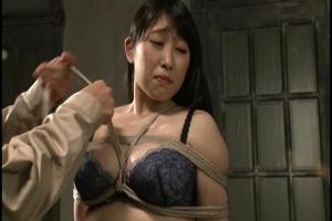 永崎文 豊満な肉体を過激調教されちゃう巨乳令嬢がおっぱい縛られ指入れ責めの嗜虐アクメ