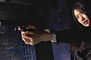水嶋あずみ 敵のアジトに潜入したスーツの美人ヒロイン!敵に囚われレイプされて拘束監禁