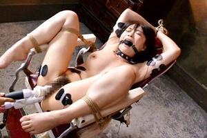 羽月希 美女が拘束アナル調教!ディルドで二穴同時に弄られて悶絶絶頂する快楽責め!