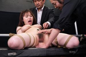 森下美怜 緊縛拘束された爆乳おっぱいの女捜査官!快楽拷問されてしまい連続で絶頂アクメ