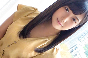【シロウトTV】笑顔が眩しい妹系受付嬢が巨根の快楽に美顏を歪めてイキまくる!