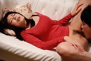 三浦恵理子巨乳熟女の義母と近親相姦セックス!まんこをクンニ責めしたら種付けプレスでガン突き