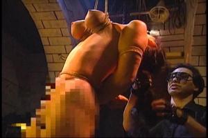 今城ケイコ美巨乳おっぱいの美女をハードSM調教!乳首にクリップを挟まれ緊縛拘束したまま宙吊り