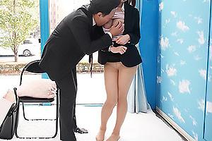 【マジックミラー号】就活中の女子大生をナンパしてセクハラ面接開始!生ちんぽを挿入されザーメン中出し