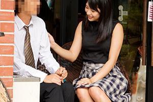 高杉麻里 おじさんを誘惑するノースリーブの清楚系美少女!巨乳を見せつけ手コキで愛撫