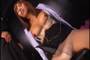 西条沙羅 敵に囚われてしまい拷問される巨乳の女捜査官!乳首クリップと電マで徹底凌辱