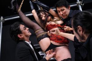 岬あずさ 緊縛拘束した女王様を蹂躙レイプ!電マと手マンでまんこを弄び快楽拷問で屈辱アクメ