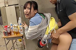 宮崎リン 超敏感体質の新入社員がリモコンローターで感じまくりチンコハメられ絶頂