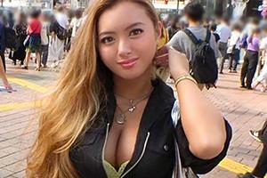 【ナンパTV】手マンで潮吹くドM金髪ギャルが美尻を突き出して超敏感ボディを震わせる!