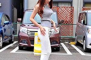 【素人】ひかり(20) ブラ紐丸見えのGカップ巨乳にTバックの激シコスタイルの美女とハメ撮り