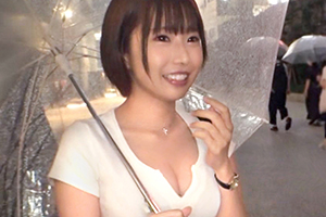 【ナンパTV】Gカップのパイズリフェラでご奉仕する美女が首絞め正常位の快感にイキ乱れる