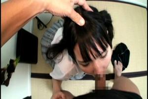 和葉みれい ツインテールの制服美少女をハメ撮り!フル勃起ちんぽをフェラさせ口内射精