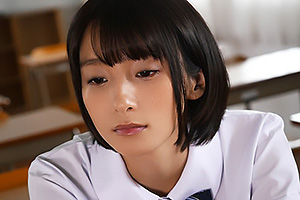 吉良りん 美乳美少女JKが放課後教師にフェラさせられパイパンマンコにハメられる