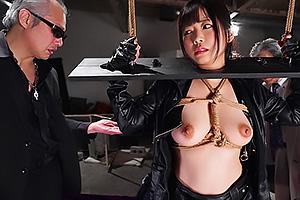 羽咲みはる  あらゆる性拷問に理性崩壊の連続アクメ!弄ばれる巨乳秘密捜査官の女の拘束恥辱責め!
