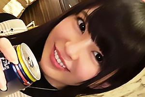 【素人】サクラ(20) 黒髪清楚な小動物系の王道美少女降臨!感度抜群のまんこを肉棒で鬼責めする