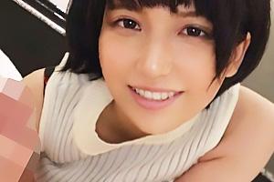 【素人】亜美(21)  ショートカット爆乳のインテリ医大生!本性はセフレ多数のヤリマンビッチ女