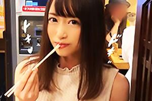 【素人】YOU(22) 歌手を目指し上京してきたモデル体型美少女!ご無沙汰セックスに性欲大開放