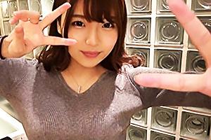 【素人】mana(21) マッチアプリで見つけた長身巨乳グラドル級美少女のTバック美尻を堪能