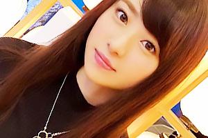 【素人】豊田さん(23) 黒髪清楚な新卒のピュアOL!貧乳美女は今どき珍しい未処理の剛毛まんこ