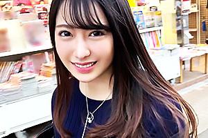 【素人】美月(21) 福岡出身の超絶美人な黒パンストOL!立ちバックでガン突きされガチアクメ