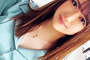 【素人】レン(23) サバサバした姉御肌のGカップ爆乳お姉さん!大好きなバックでトロ顔を晒す