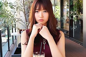 【素人】みつ(23) 広告代理店勤務の清楚系OL!挿入が待ちきれず勝手にオナニーしちゃうエロ女