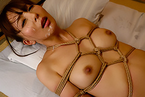 希崎ジェシカ緊縛調教でマゾ覚醒!縛られたままノーハンドフェラチオで顔面発射!