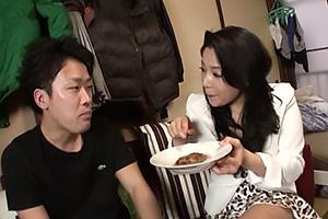 浅倉彩音 素人宅にデリバリーでやって来た三十路熟女妻!Tバック着衣のまま熟れたまんこを顔面騎乗