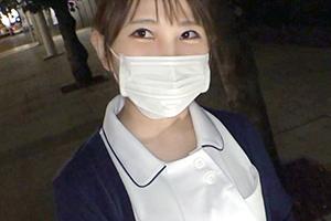 【ナンパTV】ムッチリボディがエロすぎる美人看護師が休憩中にF乳を振り乱して喘ぎまくる