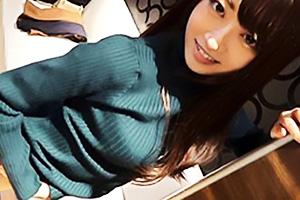 【素人】一夏(22) 透明感のある女子アナ風のスレンダー受付嬢!ご奉仕好きな美女を肉棒で絶頂させる