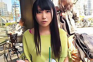 【素人】SENA(20) アプリで見つけた女子大生とパパ活!芸能人ともハメた美少女を電マ責め
