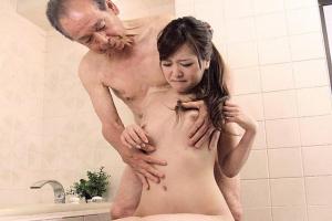 河愛雪乃 風呂で義父に襲われるスレンダー嫁ちんこ擦り付けられ精子ぶっかけられる