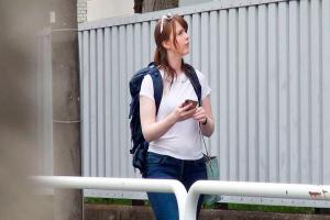 ジューン・ラブジョイ 観光で日本に来たデカ尻巨乳な金髪アメリカ人を民泊でハメ撮り盗撮!