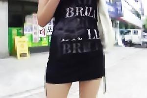 街角でスレンダーなモデル体型のコリアンガールをナンパ!ホテルに連れ込み韓国美女と即ハメ
