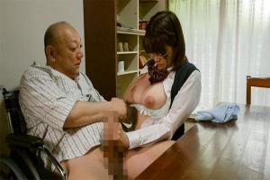 佐知子 隣人の変態大家に犯されてしまう爆乳JK!メガネの真面目少女を弄び性奴隷化