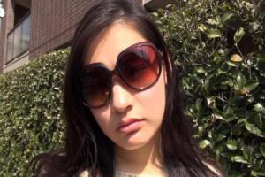 黒瀬萌衣 高飛車で生意気な美形巨乳な黒髪ハーフ美女に中出しハメ撮りしてやった!