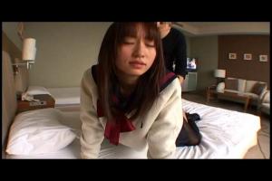 大沢美加知的な感じがまたそそる!黒パンストの制服美少女JKと着エロでハメまくり!