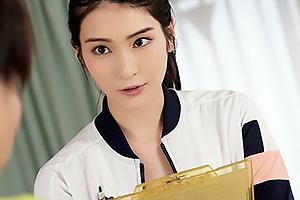 本庄鈴 「私にぶっかけて!」陸上部女教師顧問のフェラチオ顔射指導で金玉スッカラカン!