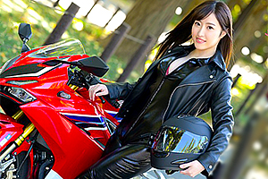 【麻宮わかな 動画】バイクと男にまたがるのが大好きな美人看護師ムーディーズデビュー