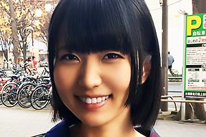 【素人】NANA♪ちゃん(20) 感度抜群のまんこが手マンで大洪水の激エロ敏感ショートカット美少女