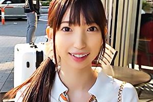 【素人】とあ(20) 透明感溢れる低身長の王道美少女!大好きな電マでオナニーしながらご奉仕フェラ
