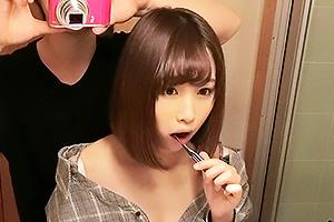 【素人】まりな(21) SNSで見つけた美少女女子大生!巨乳でパイズリしてもらいバックでガン突き