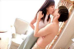 竹内夏希 スレンダーな清楚妻と童貞男子がマッチング!優しく筆おろししてくれる奥さんにザーメン中出し