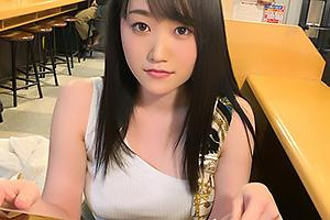 かほ(23) マッチアプリで見つけた爆乳の素人娘をハメ撮り!黒パンストTバックのエロ女を貪る